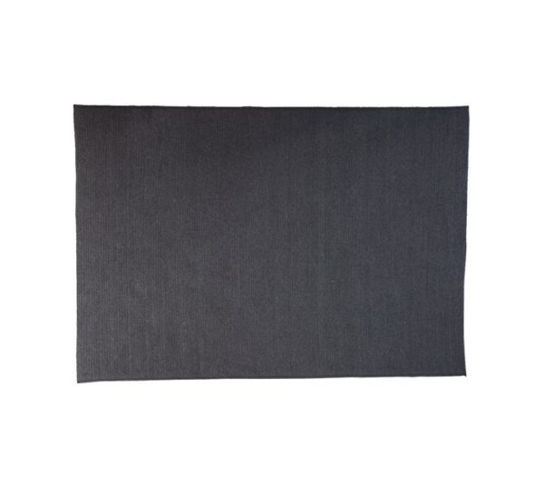 circle tæppe - dark grey - 240x170 cm - schiang living