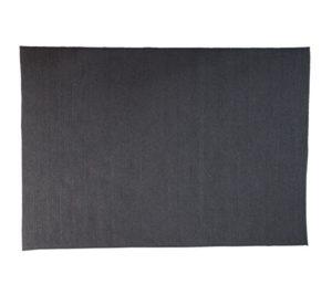 circle tæppe - dark grey - 300x200 - schiang living